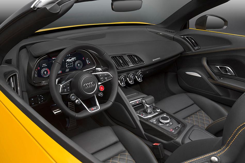 2016 Audi R8 Spyder V10 Interior