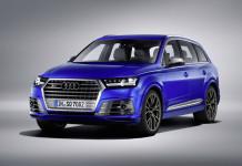 2017 Audi SQ7 TDI Front Angle