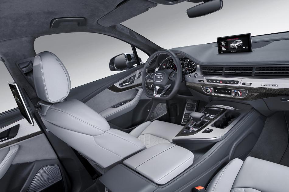 2017 Audi SQ7 TDI Interior