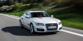 "Autobahn A9: Audi research car ""Jack"" shows social competence"