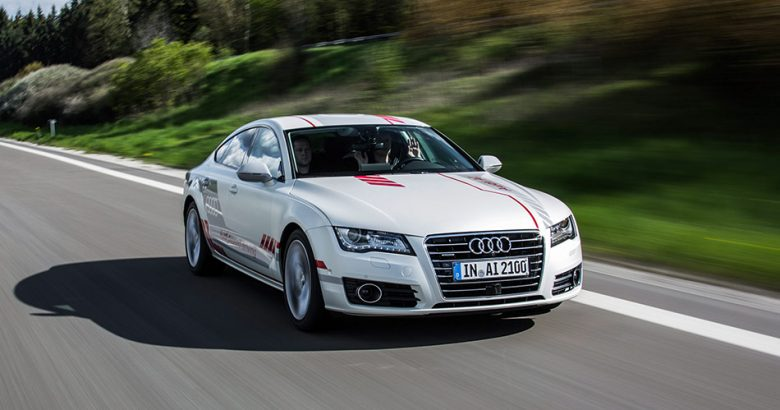 """Autobahn A9: Audi research car """"Jack"""" shows social competence"""