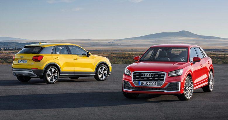 Audi Q2 Vegas Yellow, Tango-Red