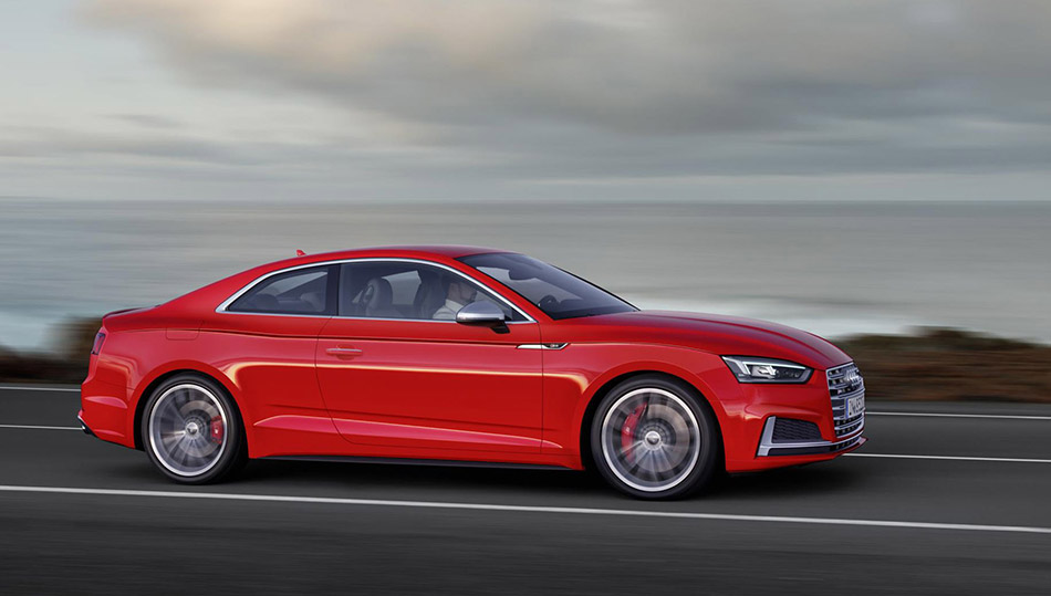 2016 Audi S5 Coupe Side