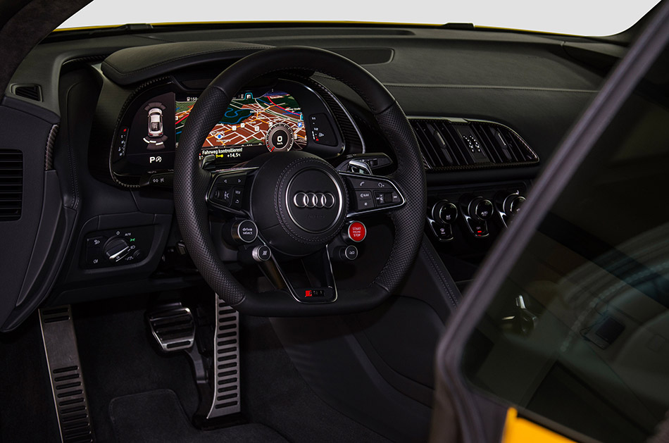 2016 Fostla Audi R8 V10 Plus Interior